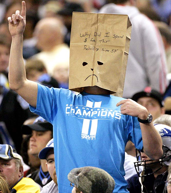 Lions Fan Bag Head
