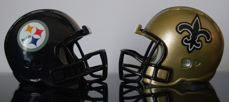 Pittsburgh Steelers @ New Orleans Saints