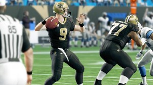 Saints QB Drew Brees in Madden NFL 10