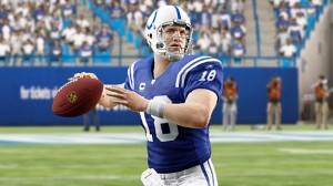 Colts QB Peyton Manning in Madden NFL 10