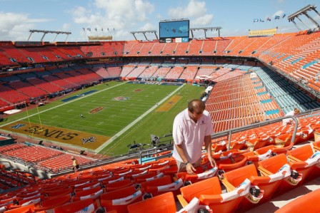 Sun Life Stadium in Miami, FL