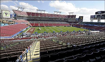 Raymond James Stadium in Tampa, FL
