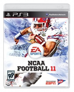 NCAA Football 11 on PS3
