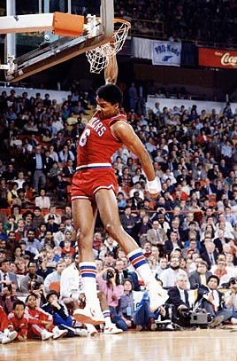 Dr J Dunks From Free Throw Line