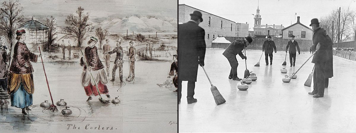 Curling has come a long way
