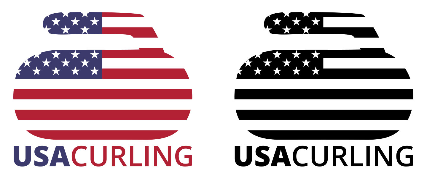 Team USA Curling Logos